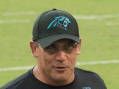Despiden a Ron Rivera entrenador de los Carolina Panthers