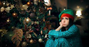 ¿Se siente triste en la épocas de fiestas?