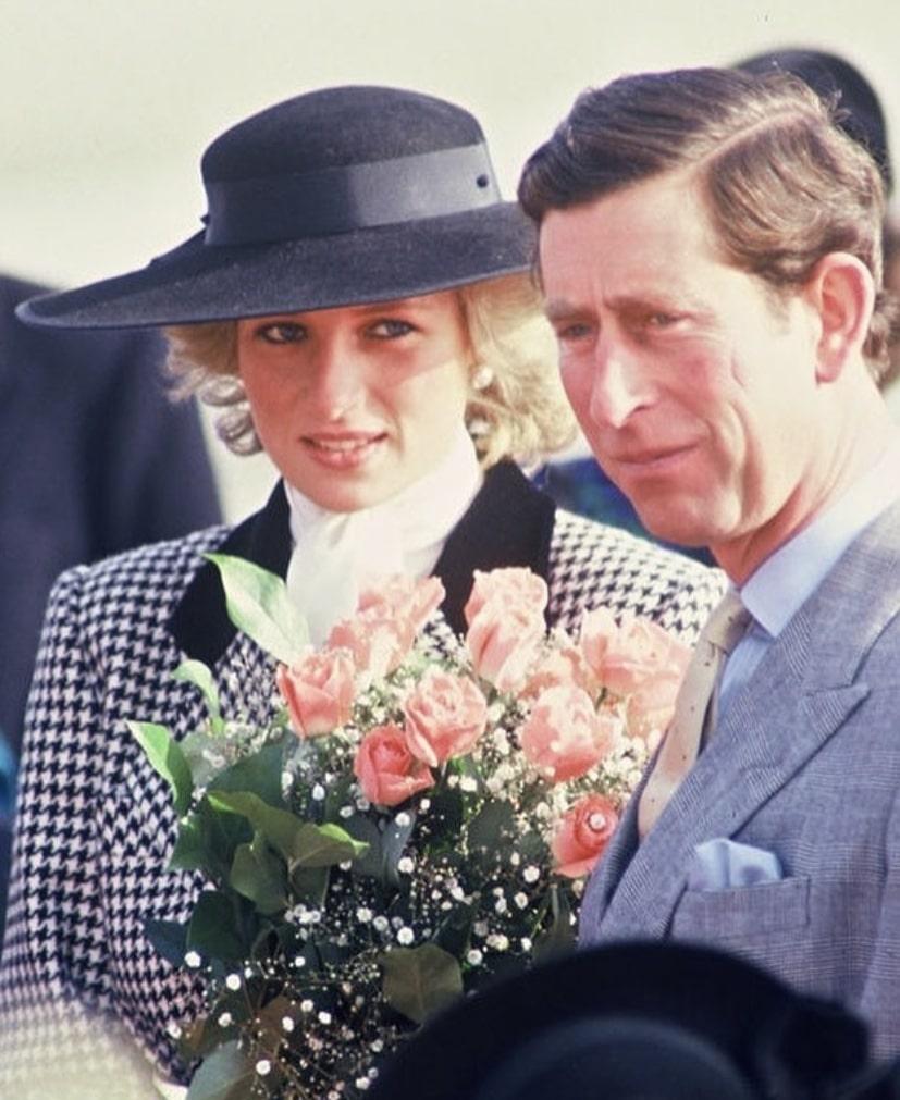 Diana y Carlos de Gales