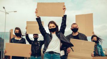 ¿Es seguro protestar en una pandemia?
