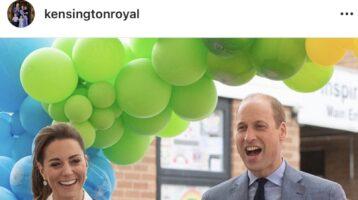 Kate y William agradecen a profesionales de la salud
