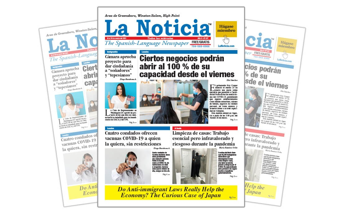 La Noticia Greensboro Edición 427